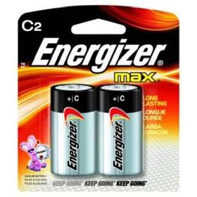 Energizer Max Batteri - C2
