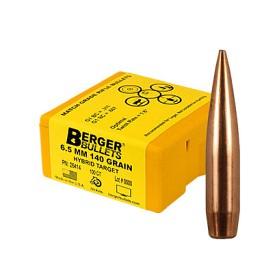Berger 6.5mm 140gr Hybrid Target 500 Pack