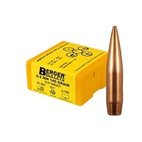 Berger 6.5mm 140 gr VLD Target 500 Pack