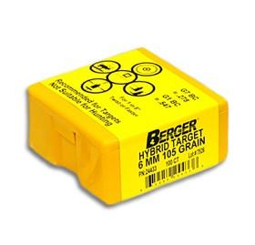 Berger 6mm 105 gr Hybrid Target