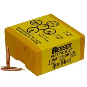 Berger 6mm 115 gr VLD Target