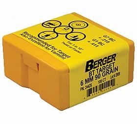 Berger 6 mm 90gr BT Target 1000 Pack