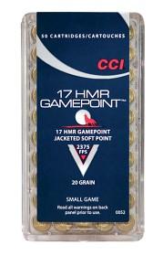 CCI 17HMR GamePoint