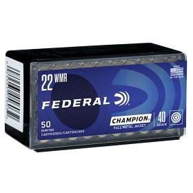 Federal 22WMR FMJ 40GR/2,59G g