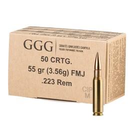 GGG 223rem Fmj 55gr