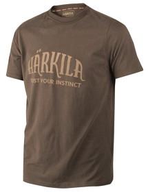 Härkila logo T-shirt Slate Brown