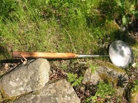 Källrå Knack Smide Kolbullepanna 80 cm