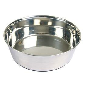 Matskål ROSTFRI m gummibas antiglid 0,5liter