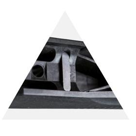 Rekylklack, stål Tikka T3