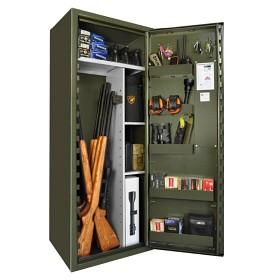 SP88E Säkerhetsskåp SSF3492 och Brandbox SS1103 - Grön