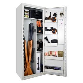 SP88E Säkerhetsskåp SSF3492 och Brandbox SS1103 - Vit