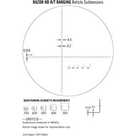 Vortex Razor HD Okular med streckplatta (MRAD)