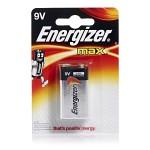 Energizer Max Batteri - 9V