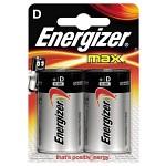 Energizer Max Batteri - D
