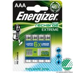 Energizer Recharge Extreme Batteri 4-pack - AAA