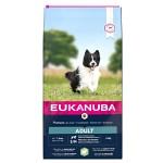 Eukanuba Adult Small & Medium, Lamb & Rice 18kg