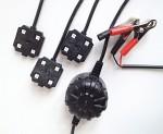 Gyttorp Åtelbelysning LED 3ST 4KANT