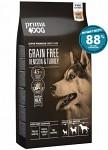PrimaDog Adult All Breed Grain Free Hjort & Kalkon 10kg