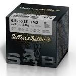 Sellier&Bellot 6,5x55 FMJ 124gr