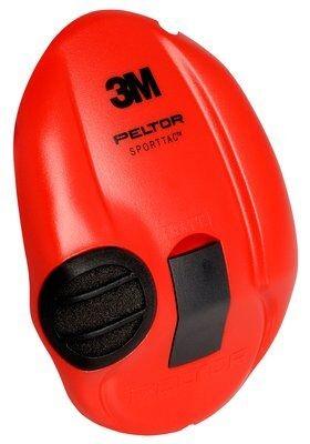 3M Peltor SportTac Svart/Röd