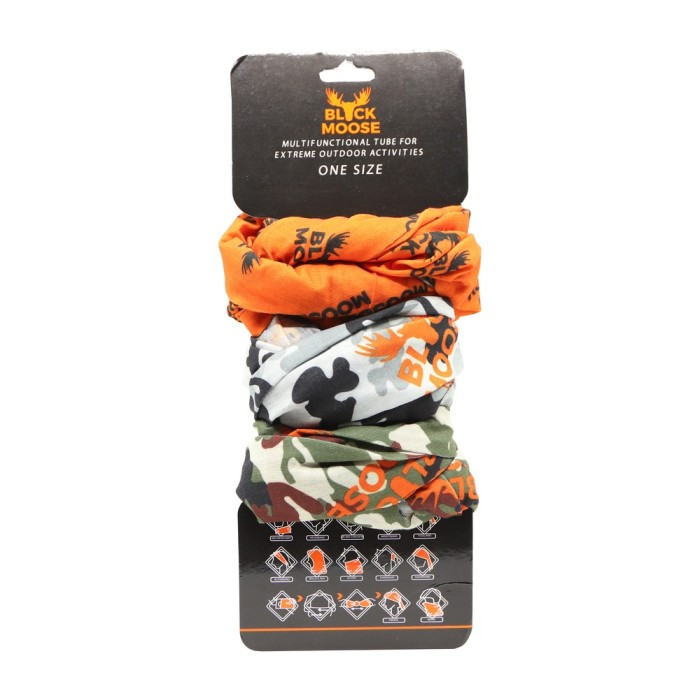 Black Moose Buff 3-pack