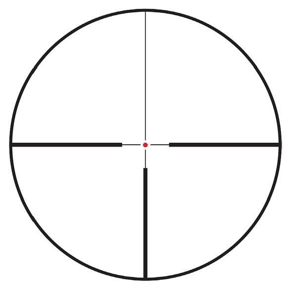 Black Moose Kikarsikte 1-6x24 IR