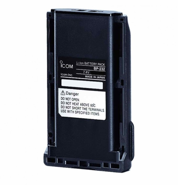 Icom Batteri BP-232 (PH Advanced)