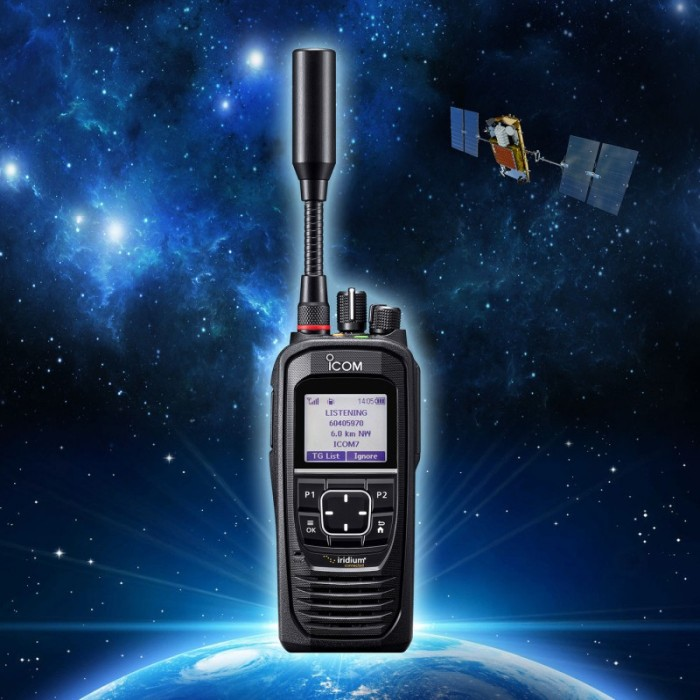 Icom IC-SAT100 - Iridium Satellitradio