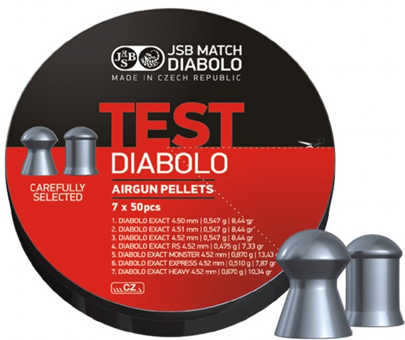 JSB Exact Test Diabolo 4,5mm