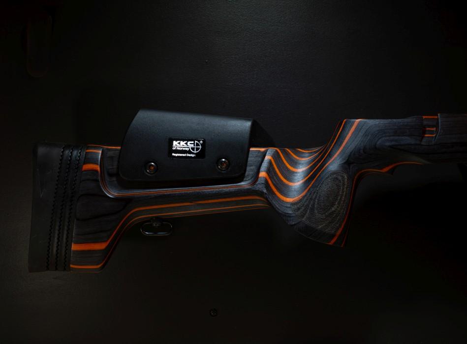KKC Laminatkolv Black/Orange