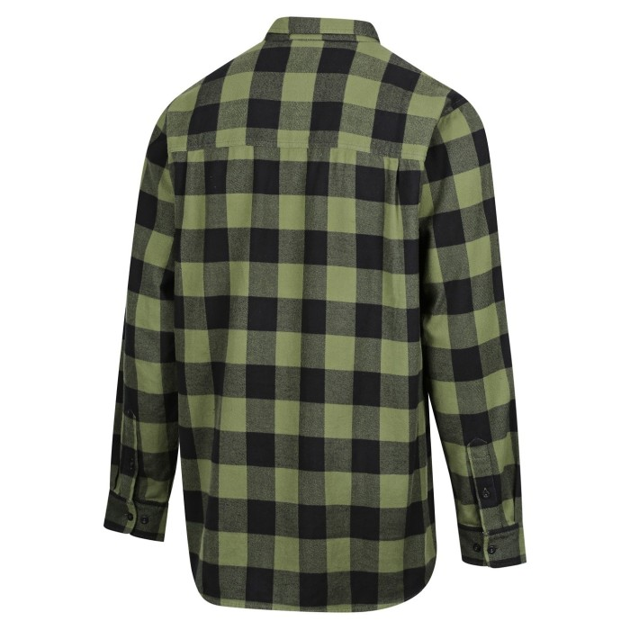 Ridgeline Classic Checked Skjorta Grön