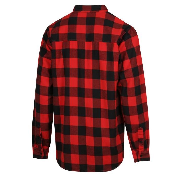 Ridgeline Classic Checked Skjorta Röd