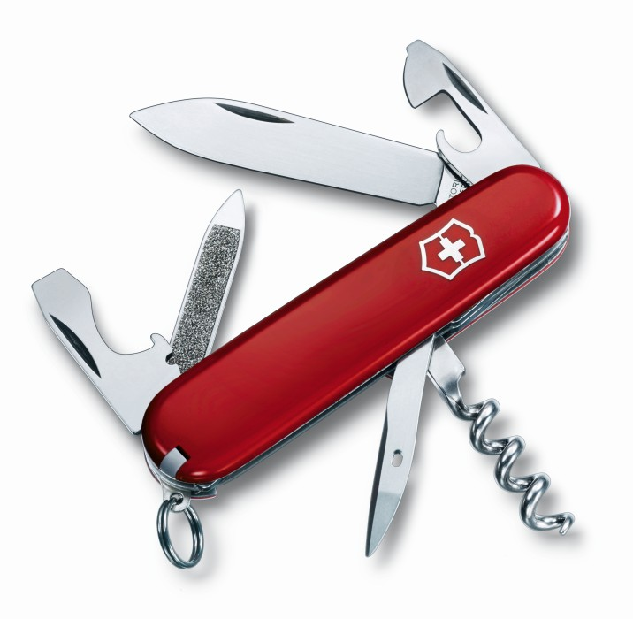 Victorinox fickkniv Sportsman - Röd