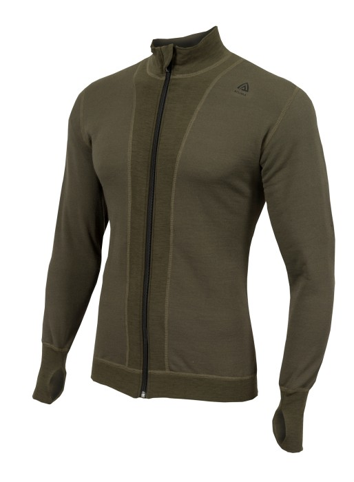 Aclima HotWool light jacket olivgrön