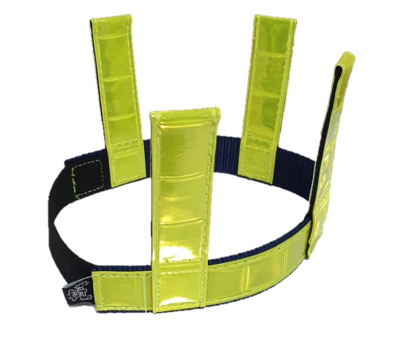Alac Reflexhalsband m flärpar 25mm