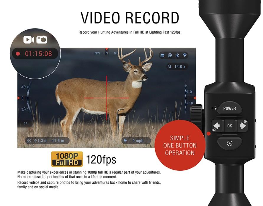 ATN X-Sight-4K HD 3-14x Pro Digital Day/Night