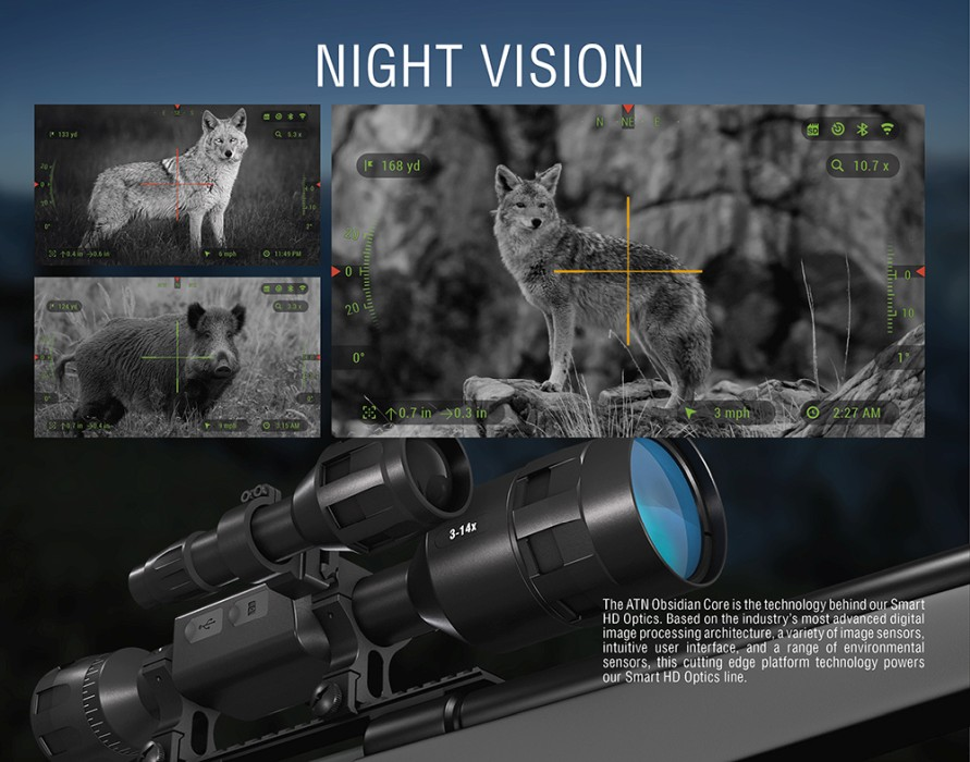ATN X-Sight-4K HD 5-20x Pro Digital Day/Night