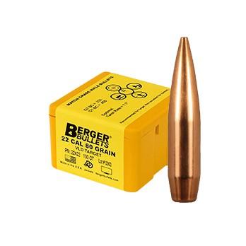 Berger Kula VLD Target .22 80gr
