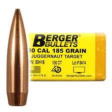 Berger Kula  Juggernaut Target .30 185gr