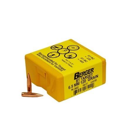 Berger Kula BT Target 6.5mm 120gr