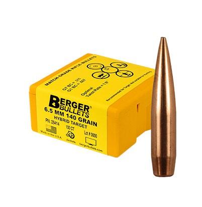 Berger Kula Hybrid Target 6.5mm 140gr  500 Pack