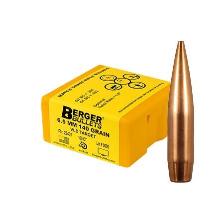 Berger Kula VLD Target 6.5mm 140gr