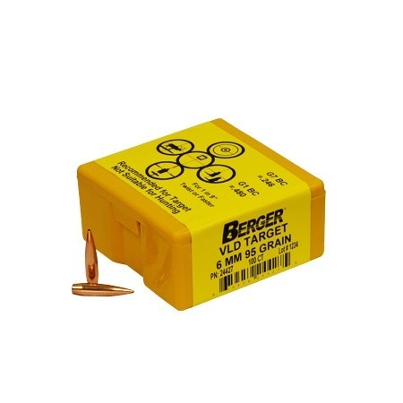 Berger Kula VLD Target 6mm 95gr