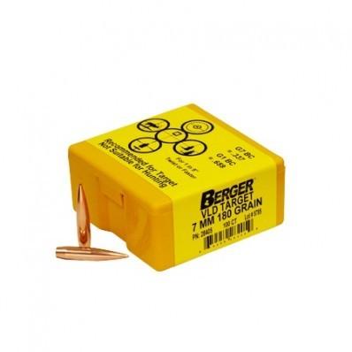 Berger Kula VLD Target 7mm 180gr
