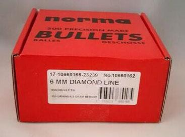 Bergerkula 6 mm 105 gr Diamond Line - 500pack