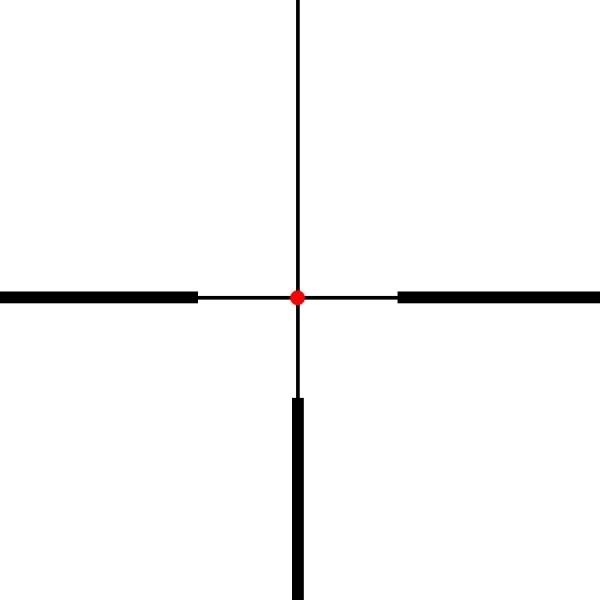 Burris Four Xe 1-4x24 Belyst 4Dot