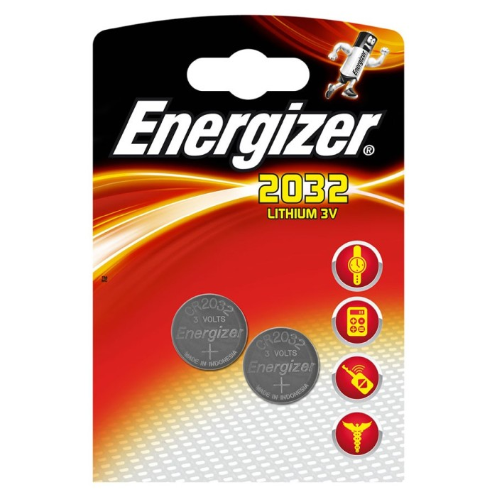 Energizer Batteri 2-pack - CR2032