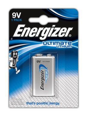 Energizer Ultimate Lithium Batteri - 9V