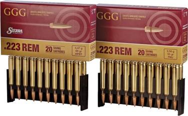 GGG .223 Sierra Match King HPBT 77gr
