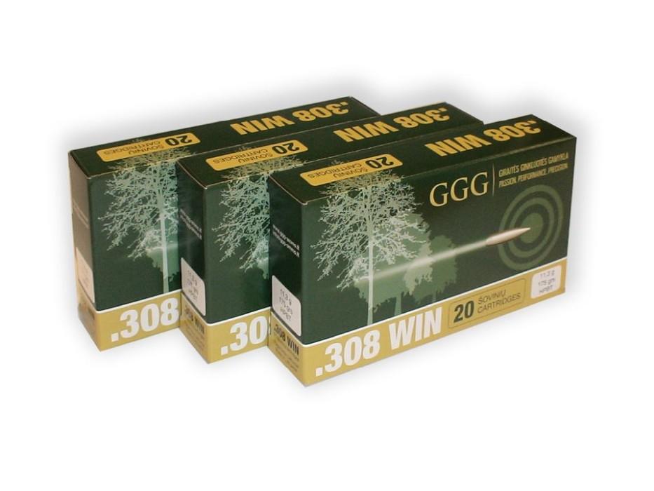 GGG .308Win SierraMatchKing HPBT 168gr